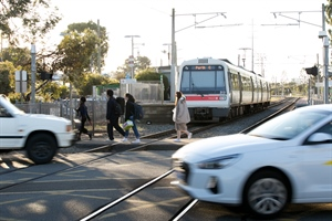 Level crossing removal contracts awarded